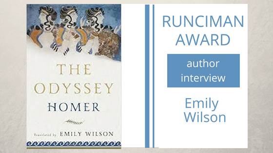 An interview with Emily Wilson, translator of Homer's Odyssey – Part 1