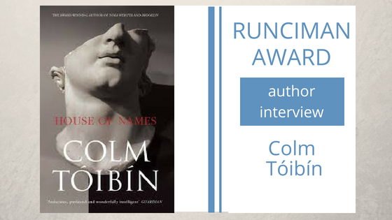 A few words from Colm Tóibín