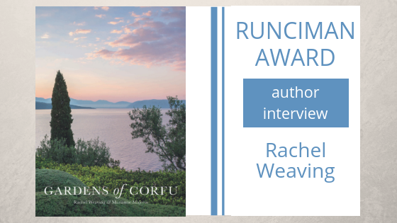An interview with Rachel Weaving, author of Gardens of Corfu