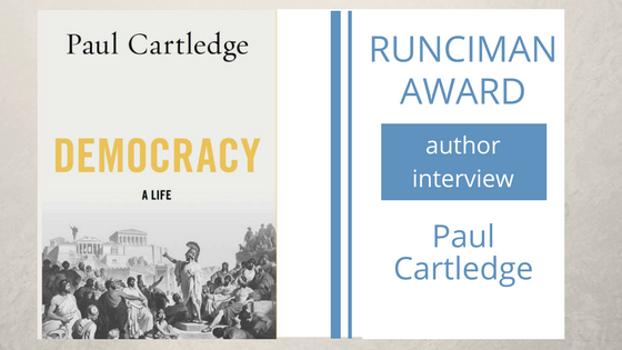 Paul Cartledge interview image